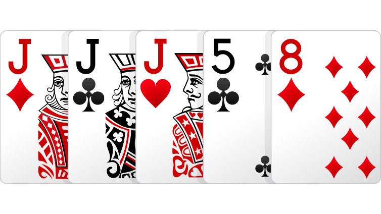 Poker Online Three Of a Kind